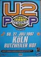 U2 Original Rare German Pop Mart Tour Bono
