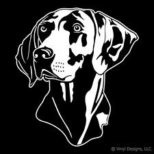 WEIMARANER DOG PORTRAIT DECAL - WEIMARANERS STICKER