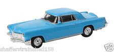 Model Power # 19483 56 Lincoln Continental (Blue, light blue) Ho Mib