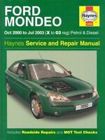 Ford Mondeo Petrol and Diesel Service and Repair Manual: 2000 to 2003-ExLibrary