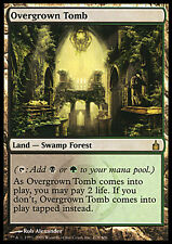 Tomba Infestata da Erbacce - Overgrown Tomb MTG MAGIC Rav Ravnica English