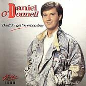 Daniel O'Donnell - Don't Forget To Remember (1987) - Free Post UK