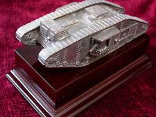 WW1 Tank Display Desk Piece 'Bronzed'