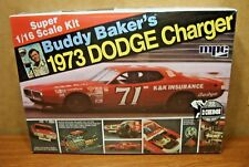 MPC BUDDY BAKER'S 1973 DODGE CHARGER 1/16 SCALE MODEL KIT