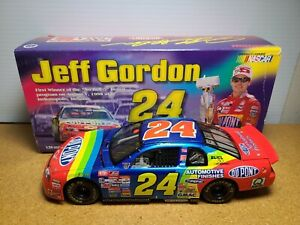 1998 Jeff Gordon #24 DuPont / Winston No Bull Indy Win 1:24 NASCAR Action MIB