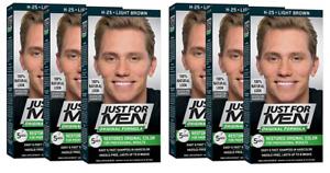 Just For Men Original Formula Restores Men's Hair Color, Light Brown (6 Pack)