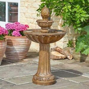 Smart Garden Queensbury Solar Powered Water Fountain