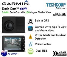 Garmin Dash Cam 66W 1440p GPS Crash Camera View Bluetooth WiFi APP AU STOCK