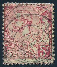 Monaco Nr. 21 gestempelt, 5 Fr. Fürst Albert I. (66897)