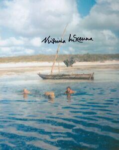 VIRGINIA McKENNA SIGNED BORN FREE authentic guaranteed AFTAL #199