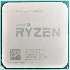 AMD Ryzen R3-1300X R5-1500X R5-1600X R7-1700X R7-1800X Socket AM4 CPU Processor