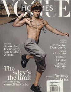 Vogue Hommes Paris Spring Summer 2018 Jon Kabat-Zinn Rick Ownes 012319DBF