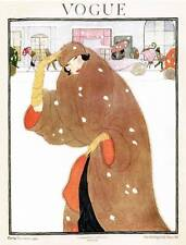 Art deco fashion vogue magazine cover nov. 1920... qualité bookprint