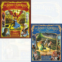 Chris Colfer 2 Books Collection Pack Set Land of Stories(Book3&4) NEW BRAND UK
