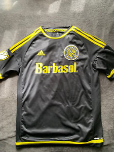 MLS Columbus Crew Adidas Youth Soccer Jersey Black, Size XL