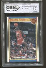1988-89 Michael Jordan Fleer #120 All-Star Gem Elite 10 Chicago Bulls MVP HOF