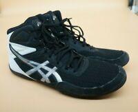 ASICS Mens Matflex 6 Black/White Wrestling Shoes Men's Size 11.5 - 1081A021
