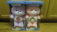 Care Bears 35th Anniversary Share Bear and Cheer Bear Collector's Edition NEW