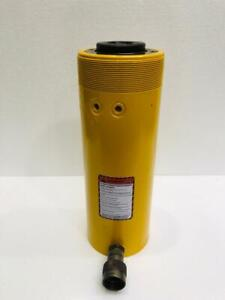 """ENERPAC RCH 306 HYDRAULIC HOLLOW CYLINDER 30 TONS CAPACITY 6"""" STROKE"""