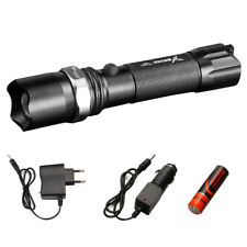 Torch Zoomable Led Flashlight Lantern Light Lamp Mini Cree Strong Lumens Outdoor