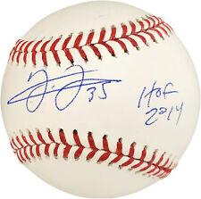 "FRANK THOMAS AUTOGRAPHED OFFICIAL MLB BASEBALL WHITE SOX ""HOF 14"" BECKETT 177472"