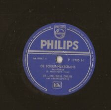 "10"" - 78 RMP - DE LIMBURGSE ZUSJES - De Boerinnekesdans - PHILIPS - P 17790"