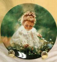 ''Spring Innocence''the 2nd  plate in the Wonder of Childhood Collection