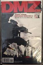 DMZ # 1 (VF)•1st Print•DC Vertigo Comics•by Brian Wood•Great Read!•