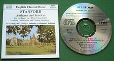 Stanford Anthems and Services Choir St Johns Cambridge Christopher Robinson CD