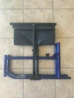 "QUICKIE LXI FOLDING WHEELCHAIR FRAME 19"" X 17""  BASE BLUE"
