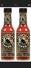 Tropical Pepper Co. XXXXTRA Hot Habanero Hot Sauce 2 Bottle Pack