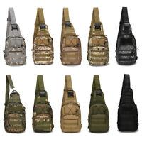 Outdoor Military Rucksack Tactical Backpack Travel Camping Hiking Trekking Bag