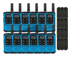 Motorola Talkabout T100TP Walkie Talkie 12 Pack Set Two Way Radios Blue New