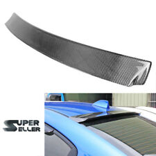 Carbon Fiber for Subaru WRX 4th STI Sedan 4D Window Roof Spoiler Wing 15-18