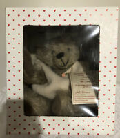 "1997 Hermann ""Sally"" Annual Mohair Bear 13-1/2"" New Old Stock In Box #'d 113/500"