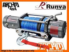 RUNVA EWX9500-Q 12V EVO 9500LB with DYNEEMA ROPE ELECTRIC COMPETITION WINCH