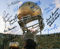 Ara Parseghian Lattner Lujack  Notre Dame Signed 8x10 Autographed Photo Reprint