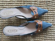 Slip in Tod's suede shoes,size 37, worn few times
