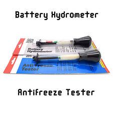 Densímetro de la batería + Accesorios Anti Freeze Probador Herramientas De Diagnóstico Servicio Nuevo