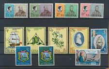 LN89423 St Helena mixed thematics nice lot of good stamps MNH