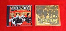Lot of 2 Street Dogs CDs Boston Punk Oi! Dropkick Murphys Bruisers Ducky Boys