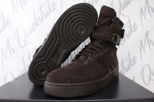 NIKE SF AIR FORCE 1 SPECIAL FIELD HIGH SZ 10 AF1 VELVET BROWN BOOT 864024 203