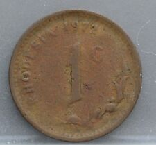 Rhodesia - 1 cent 1972 - KM# 10
