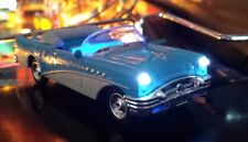 CREATURE FROM THE BLACK LAGOON Pinball BUICK Convertible Custom Car Mod BLUE
