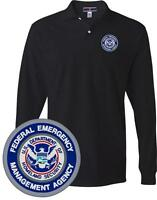 Dept of homeland security cert instructor embroidered polo for Embroidered police polo shirts