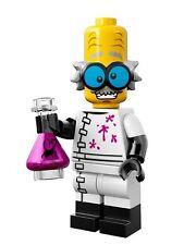 Lego series 14 monster scientist mini-figure #3 of 16 w/ checklist & unused code