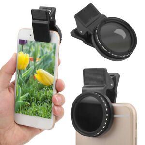Veledge 37mm ND Lens Filter ND2-400 Neutral Density Accessory for Smartphone GD
