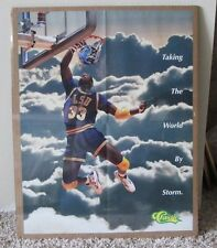 RARE 1993 SHAQUILLE O'NEAL SHAQ CLASSIC POSTER LSU SHRINK WRAPPED X-MAS GIFT