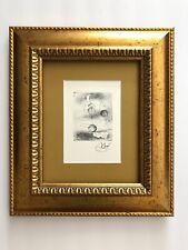 JOAN MIRO ORIGINAL 1969 BEAUTIFUL SIGNED PRINT MATTED 8 X 10 + BUY IT NOW!!