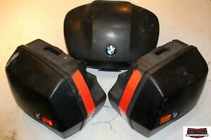 1998 BMW R1100RT Rear Saddlebag Side Compartments Set Bags Storage